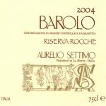 Barolo DOCG Riserva Rocche 2004