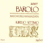 Barolo DOCG Rocche dell&#8217;Annunziata 2007