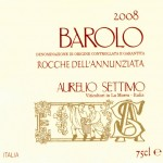 Barolo DOCG 2008 Rocche dell&#8217;Annunziata