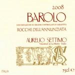 Barolo DOCG 2008 Rocche dell'Annunziata