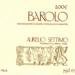 Barolo DOCG 2005