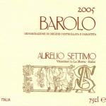 Barolo DOCG 2005