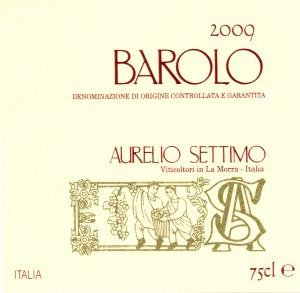 etichettaBAROLO2009
