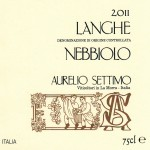 Langhe DOC Nebbiolo 2011