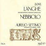 Langhe DOC Nebbiolo 2012