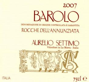 Barolo DOCG Rocche dell'Annunziata 2007