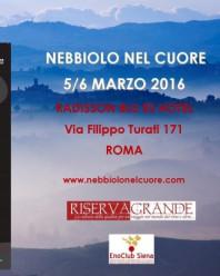 NEBBIOLO NEL CUORE – ROMA, 5/6 MARZO 2016