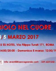 NEBBIOLO NEL CUORE – ROMA – 2017