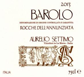 Barolo DOCG 2013 Rocche dell'Annunziata