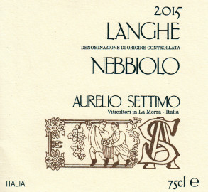 Langhe DOC Nebbiolo 2015
