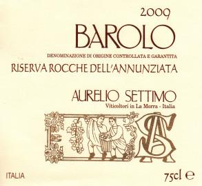 Barolo DOCG 2009 RISERVA Rocche dell'Annunziata