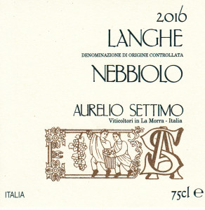 Langhe DOC Nebbiolo 2016