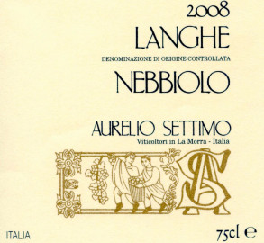 Langhe DOC Nebbiolo 2008