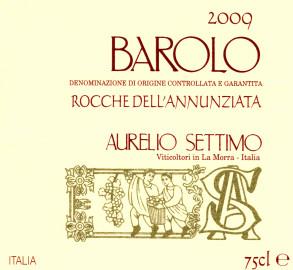 Barolo DOCG 2009 Rocche dell'Annunziata