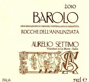 Barolo DOCG 2010 Rocche dell'Annunziata
