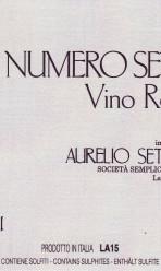 NUMERO SETTE – Vino Rosso